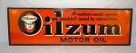 Oilzum Motor Oil tin sign (1948)