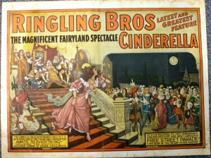 The back of the previous courier, valued at $50 to $100. In 1919 Ringling Bros. Circus was combined with Barnum & Bailey.