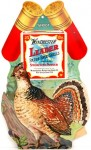 "Winchester Leader case insert die-cut ""Grouse"" (circa 1920), in near mint condition and rare, sold for $5,270"