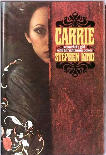 "First edition of ""Carrie"""