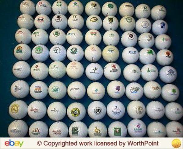 You can buy golf balls by the lot on eBay. This batch of 72 was had for 19.95 in 2011.