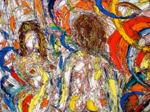 Abstract by Herbert Art (1910-1996)