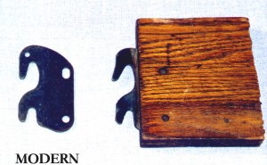 Don't assume siderails to different beds are interchangeable. These two sets of hooks appear to be similar but they are not exactly the same and will not fit into a bed the same way.