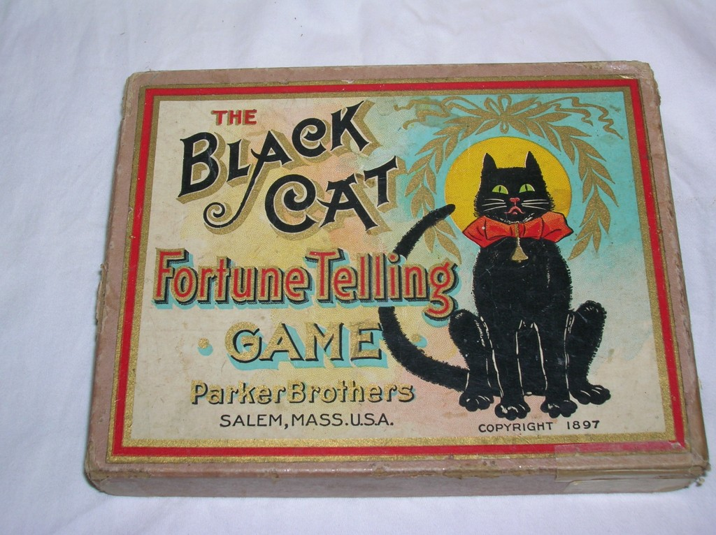 "A rare ""Black Cat"" fortune-telling card set from 1897."