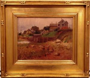 Landscape by Frank Duveneck (1848-1919)