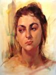 """One of Wesley Kime's """"beautiful women"""""""