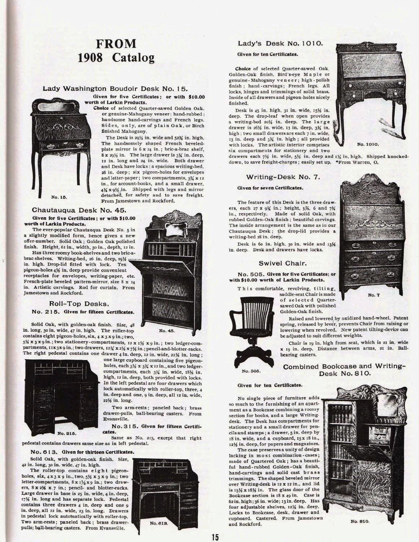 Everyman's Desk – The History of the Larkin Desk
