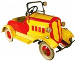This American National pedal car, Hudson, 1932 (Toledo, Ohio), with original paint, sold for $11,000.