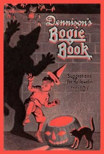 "The 1923 ""Dennison's Bogie Book,"" filled with recipes, parlor games and how-to guides."