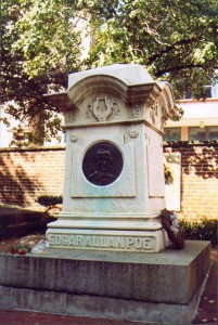 Poe's gravesite in Baltimore.
