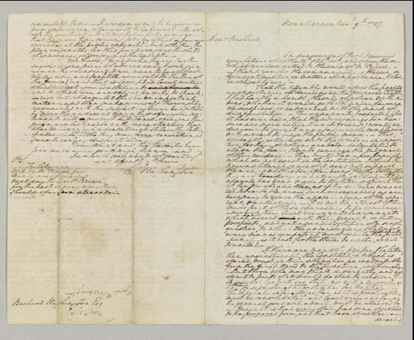 A revealing and poignant George Washington letter sent to his nephew Bushrod Washington, is considered one of the most important Washington letter to come to auction in many years and is estimated to bring in $1.5-$2.5 million.