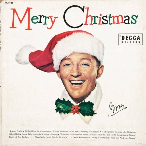 "Bing Crosby, one of the iconic crooners who version of ""White Christmas"" is considered to be the ""only"" version, put out this album, ""Merry Christmas."""