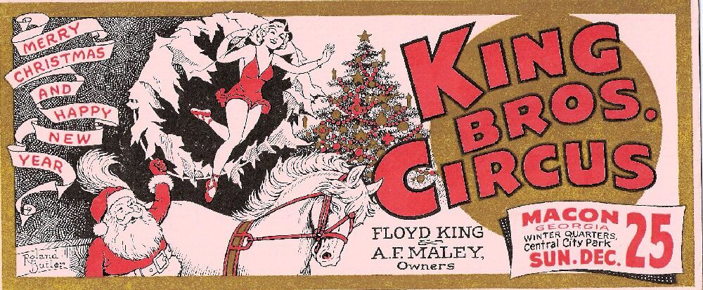 A King Bros. card is from the 1950s.