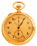 This Tiffany & Co. minute repeater pocket watch with split second chronometer brought in $11,500.