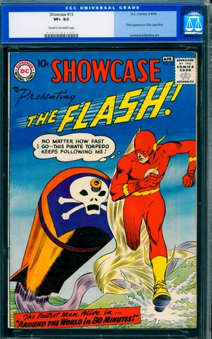 "Showcase"" #13 (March 1958)"