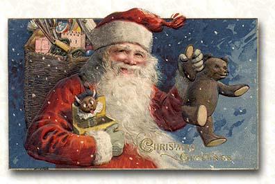 vintage santa 2