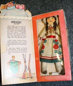 Hallmark's Annie Oakley doll was issued in February 1979.