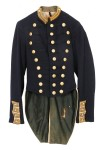 A dark blue 14th New York Utica Citizens Corp officer's coat from the Civil War is estimated to sell for $2,000-$4,000.