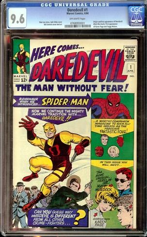 Daredevil #1 (Marvel 1964)