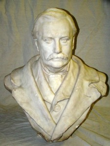 Bust of Sherlock Holmes creator Arthur Conan Doyle by William Hamo Thornycraft brought in $4,520.