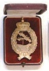 Von Tutschek's pilot's badge