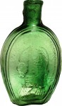 This Washington/Baltimore Glassworks portrait pint flask sold for $8,400.