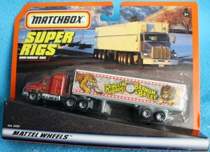 This Ringling Barnum Matchbox truck is fairly common and can be found for as little as $5.