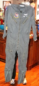 Lang's flight suit.