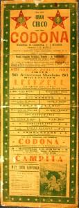 Cico Codona in Mexico, 1929.
