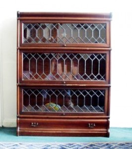 Not all GW cabinets with leaded glass doors were made in England but this one was.