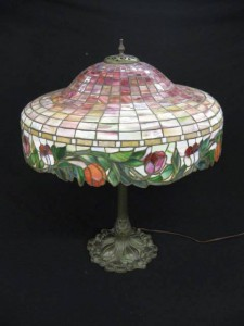 A rare Duffner & Kimberly vintage lamp.
