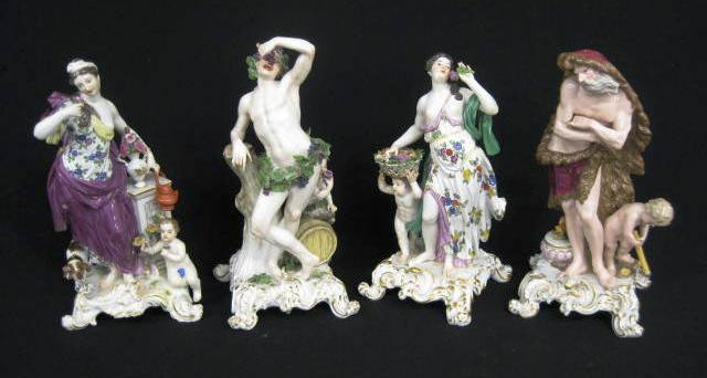 "An early Meissen figural group, ""The Four Seasons,"" will be among the 1,300 fresh-to-market items in a two-day, multi-estate auction on Feb. 26-27, 2010, hosted by Richard D. Hatch & Associates in Flat Rock, N.C."