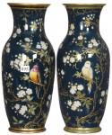 Pair KPM vases