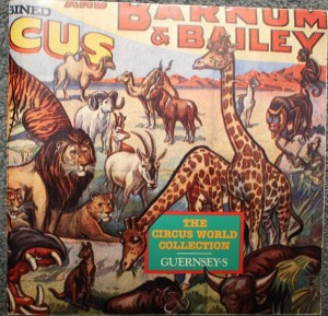 The Circus World Collection auction was conducted by Guernsey Feb 16 & 17, 1985. This 94-page catalog is valued at $25.