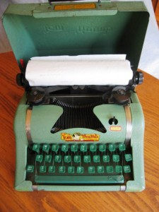 Tom Thumb Typewriter.