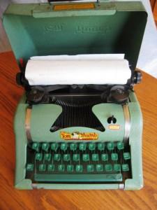 Tom Thumb Typewriter.