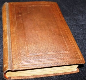 "This is a first edition copy of the earliest Barnum autobiography. The title is ""The Life of P.T. Barnum Written by Himself."" It was published by Redfield in 1855. Value is $175. Over the ensuing years Barnum wrote many other autobiographies. There were many versions of ""Struggles and Triumphs; or Forty Years' Recollections of P.T. Barnum."" Many of these can be found for as little as $10. When Barnum started his first circus in 1871 you could buy a copy of ""Struggles"" for $1.50 and get a free ticket to the circus. By 1873 he was selling the book at the circus for $1 but you had to buy your own ticket for 50 cents."
