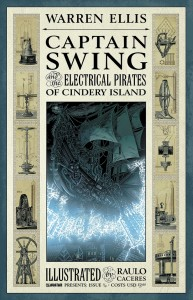 Captain Swing and the Electrical Pirates of Cindery Island #1 of 4