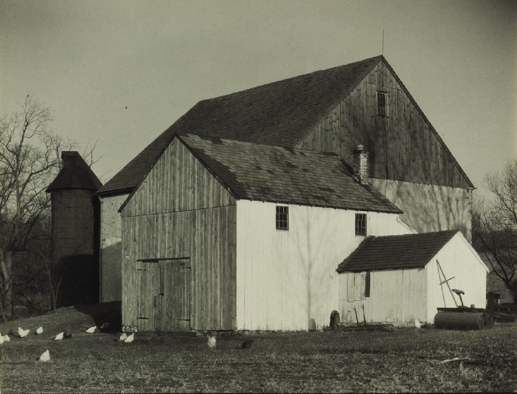 "This Charles Sheeler photograph, ""Bucks County Barn,"" is estimated to bring between $100,000-$150,000 at auction."