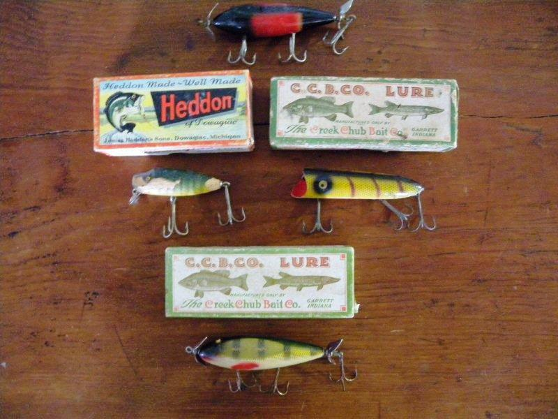 George A. Chancellor, Jr. was a dedicated collector of many things, including fishing lures, which are among the items currently on the block in an Internet auction that will close on April 24, 2010.