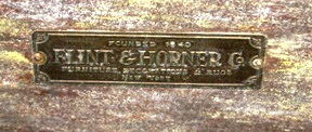 By the time this label was used, Horner was no longer making furniture and was just a retailer.