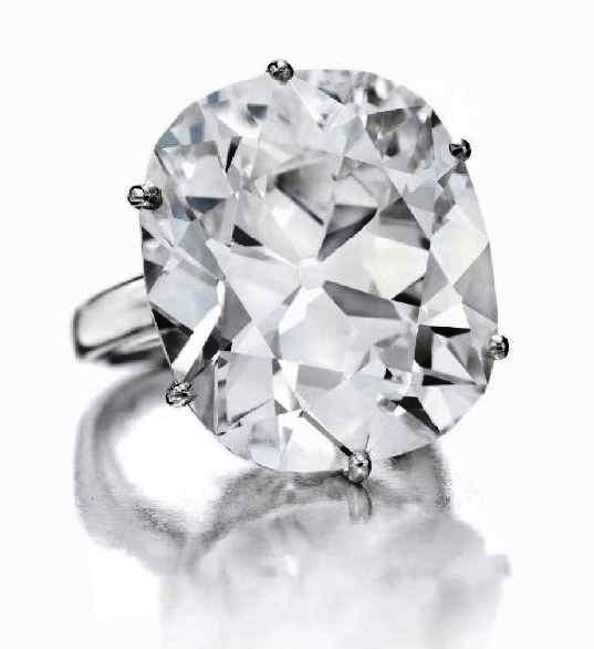 The Emperor Maximilian Diamond, weighing 39.55 carats, is among the many spectacular gems going up for bid at Christie's first major jewelry sale of the year on April 22, 2010. It is estimated to bring $1-1.5 million.