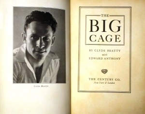 "The Big Cage"" book was copyrighted in 1933 and published by The Century Company. The book featured many photos from the motion picture. Prices on the internet range for as little as $15 for a worn copy to a high of $500 for a first edition with dust jacket."