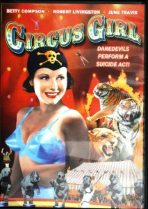 "Circus Girl"" is available on DVD for less than $10. According to the text on the back of the DVD box, the feats in the movie were performed by circus stars, The Escalante Family."