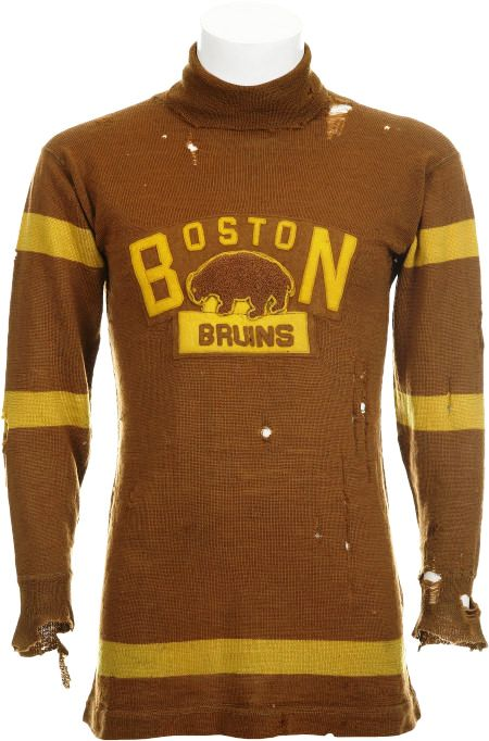 1924-25 Boston Bruins Game Worn Sweater from First NHL Season