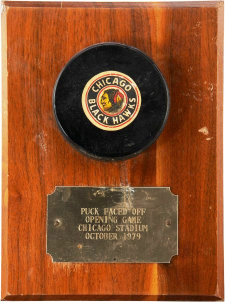 1979 Wayne Gretzky's First NHL Game Used Puck