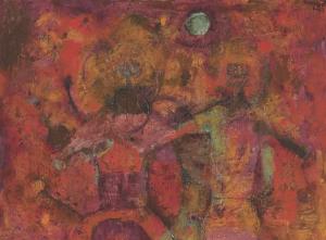 "Danzantes,"" by Rufino Tamayo."