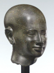 A fine Egyptian Diorite head of an official, Late Period, 380-343 B.C. (estimate: $500,000-$700,000).