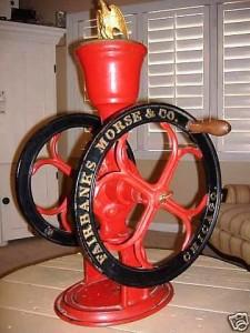 Fairbanks Morse coffee grinder