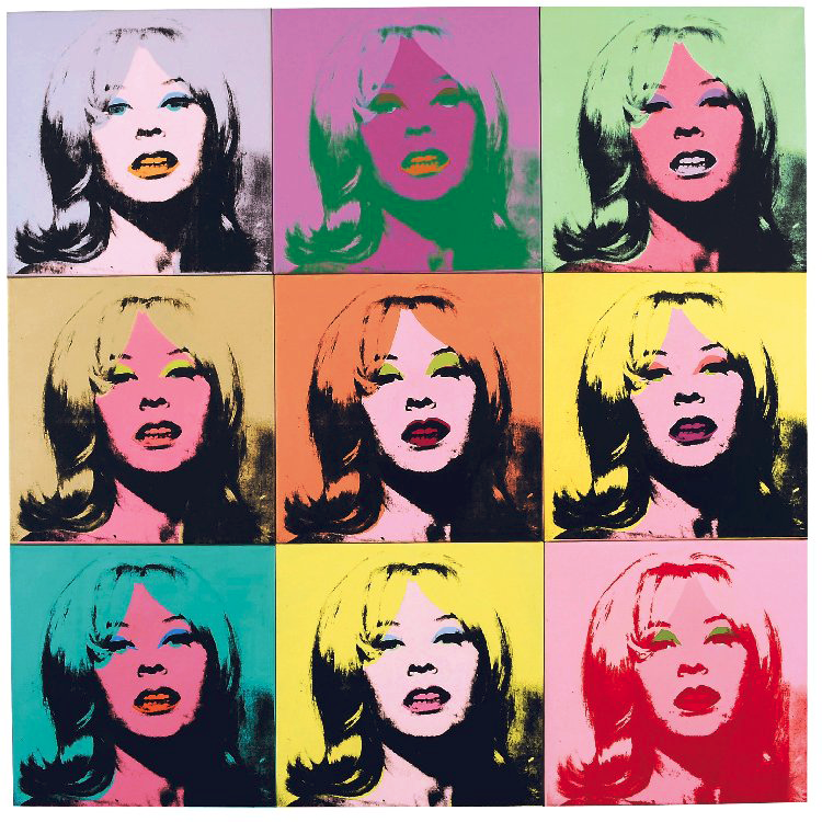 "Andy Warhol's ""Holly Solomon,"" the cover lot of the Post-War and Contemporary Art Evening Sale hosted by Christie's, , is estimated to bring between $7-$12 million."